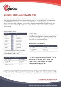 Carbon Steel 216WCB