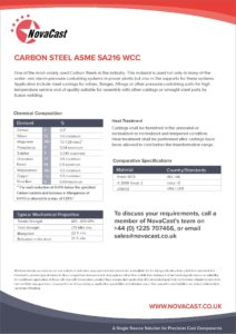 Carbon Steel 216WCC