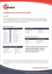 Carbon Steel EN10213