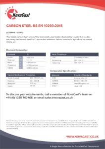 Carbon Steel EN10293