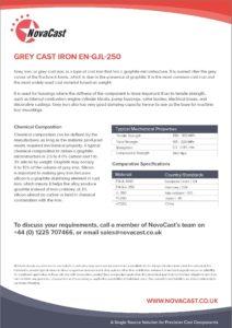 Cast Iron EN-GJL-250