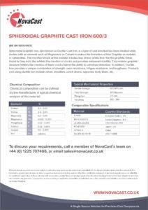 SG Iron 600-3