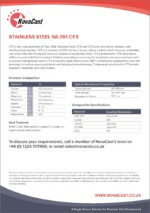 Stainless Steel CF3