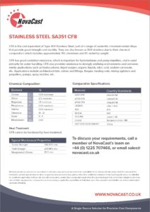 Stainless Steel CF8