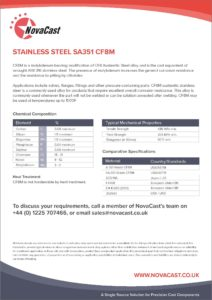Stainless Steel CF8M