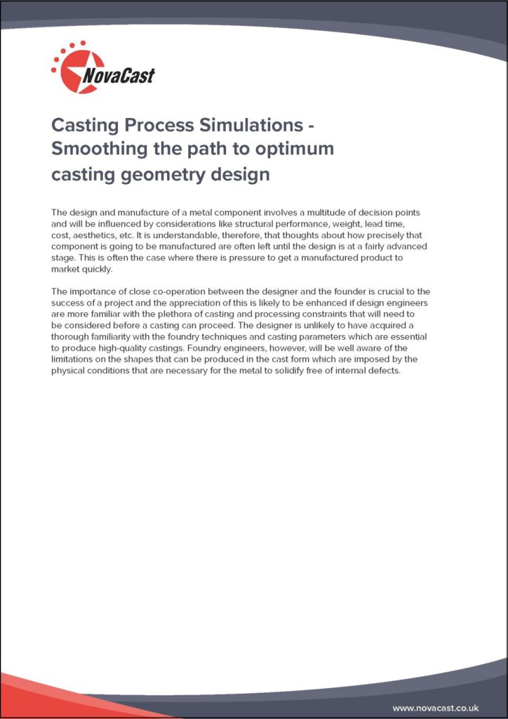 Casting Design Simulation